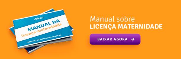 Manual sobre Licença Maternidade